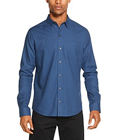 Men's Regular-Fit Stretch Stripe Shirt