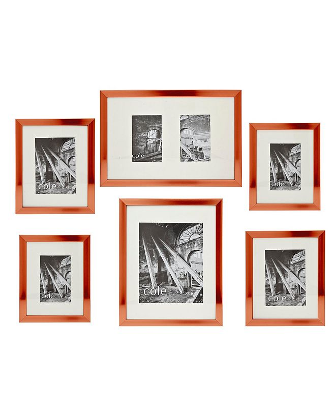Philip Whitney 6 Pc Copper Wall Set