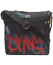 Gigi Graffiti Logo North-South Phone Crossbody, Created For Macy's