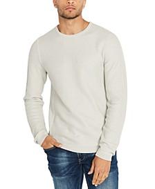 Men's Popcorn Textured Sweater