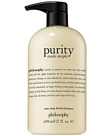 Purity Made Simple Facial Cleanser, 22-oz.