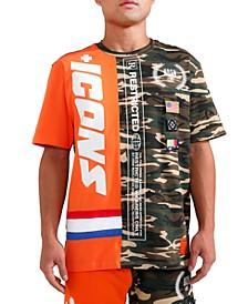 Men's Split Icons Graphic T-Shirt
