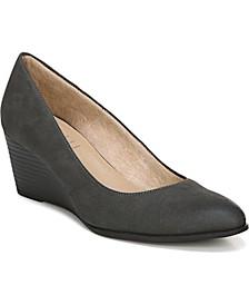 Glimmer Wedge Sandals