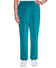 Bright Idea Proportioned Velour Pants