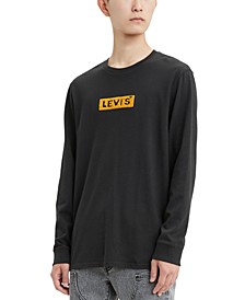 Men's Limited Collection Chenille Boxtab Long-Sleeve T-Shirt