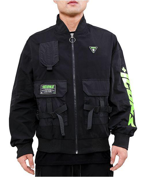 Hudson NYC Men's Icons Tactical Flight Jacket