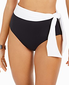 Bel Air High-Waist Tie Bikini Bottoms