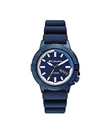 Men's Peak Patrol Blue Silicone Strap Watch 42mm