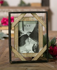VIP Home & Garden 4X6 and Wood Picture Frame
