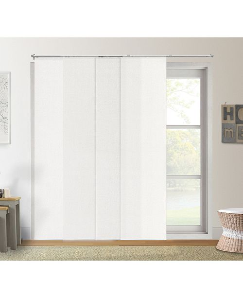 """Chicology Adjustable Sliding Panels, Cut to Length Vertical Blinds, Up to 80"""" W x 96"""" H"""