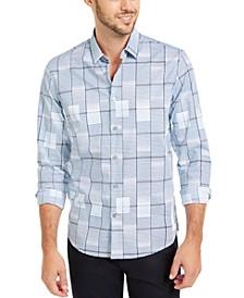 Afani Men's Classic-Fit Geo-Print Shirt, Created For Macy's