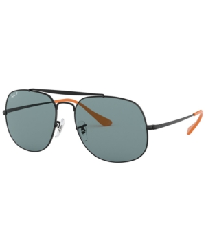 Ray Ban RAY-BAN POLARIZED SUNGLASSES, RB3561 57 THE GENERAL