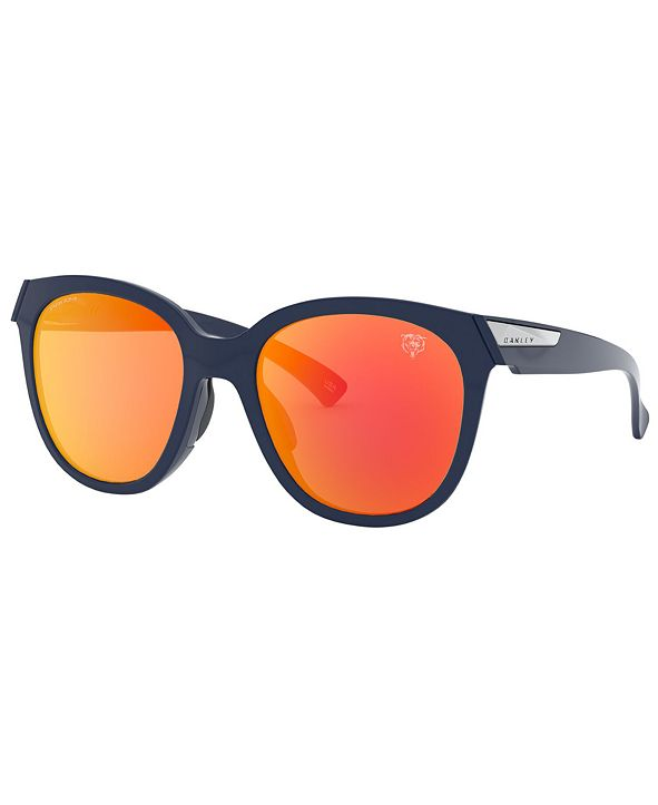 Oakley NFL Collection Sunglasses, Chicago Bears Low Key OO9433 OO9433 54 LOW KEY