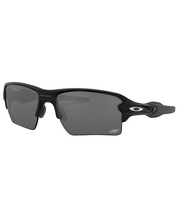 Oakley NFL Collection Sunglasses, Philadelphia Eagles OO9188 59 FLAK 2.0 XL