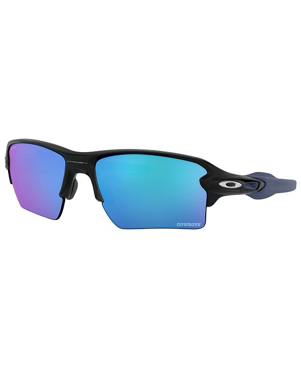 Oakley NFL Collection Sunglasses, Dallas Cowboys OO9188 59 FLAK 2.0 XL