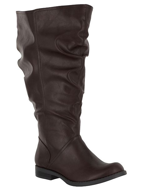 Easy Street Peak Extra Wide-Calf Boots