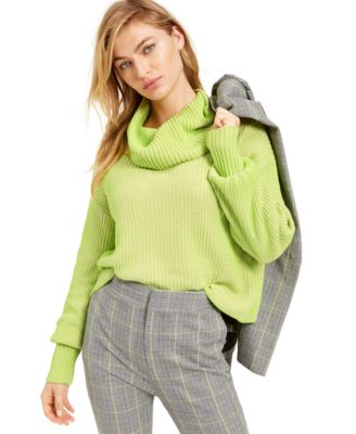 Becca Tilley x Cowl-Neck Cropped Sweater, Created For Macy's