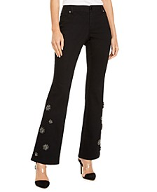 INC Embellished Bootcut Jeans, Created for Macy's