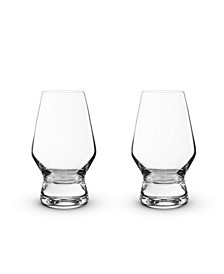 Raye Crystal Scotch Glasses Set of 2