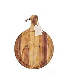 Country Home Acacia Wood Artisan Cheese Paddle