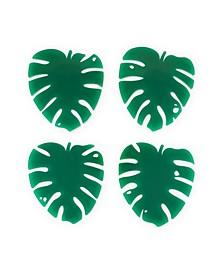 Lush Monstera Leaf Coasters