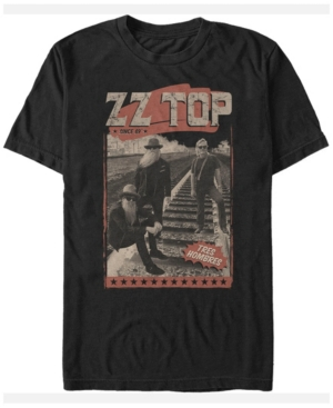 Zz Top Men's Tres Hombres Since '69 Poster Short Sleeve T-Shirt