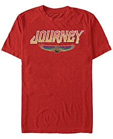 Journey Men's Winged Beetle Logo Short Sleeve T-Shirt