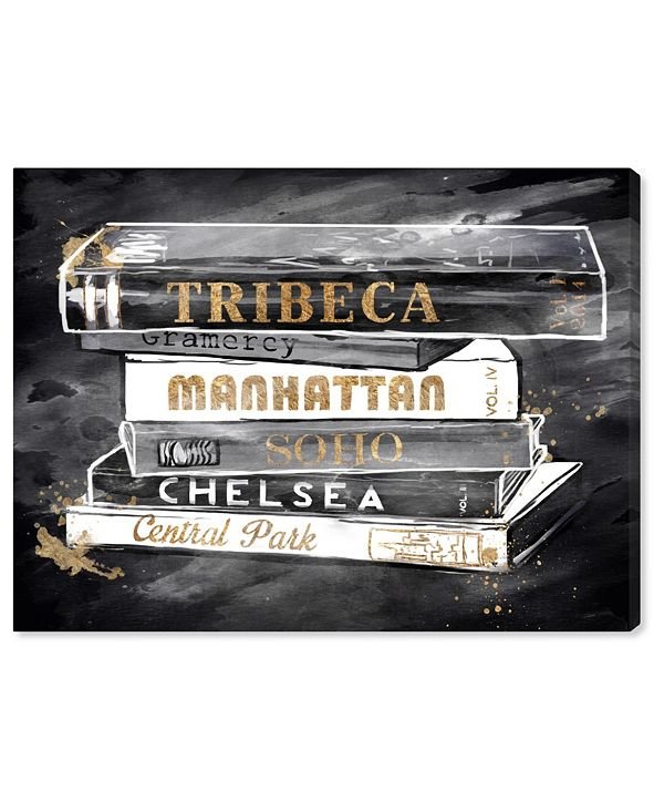 "Oliver Gal Glam Boroughs Canvas Art, 20"" x 24"""