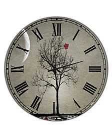 "Inevitable Large Cottage Wall Clock - 36"" x 28"" x 1"""