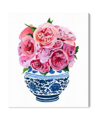 Julianne Taylor - Peonie Vase Canvas Art, 36