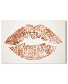 Solid Kiss Copper Canvas Art Collection