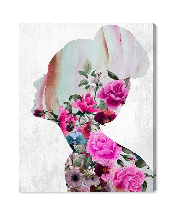 "Oliver Gal Flower Built Canvas Art, 30"" x 36"""