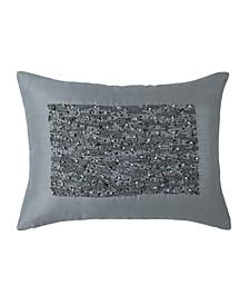 Beaded Rectangle 12  X 16  Decorative Pillow