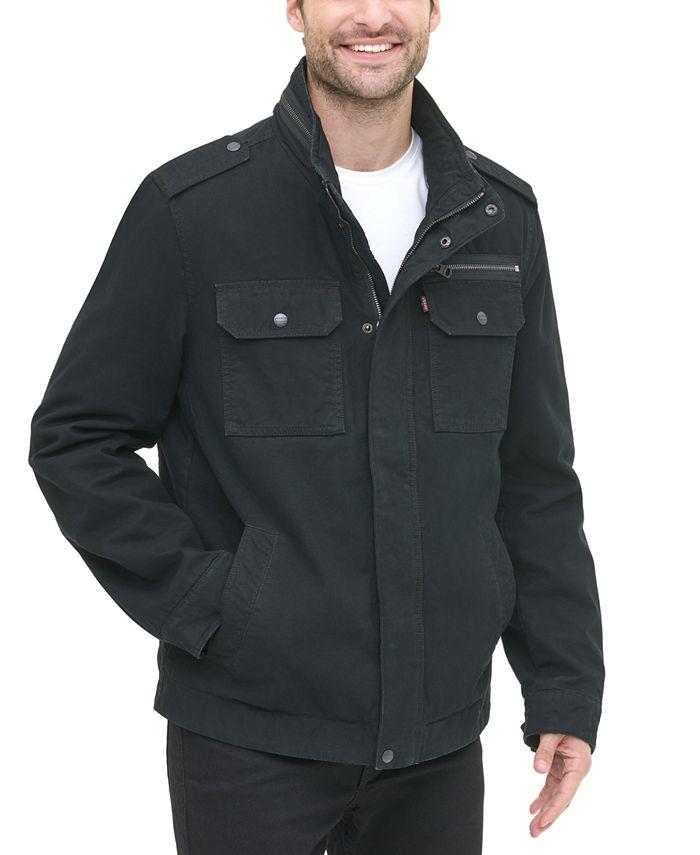 Levi's - Men's Cotton Zip-Front Jacket