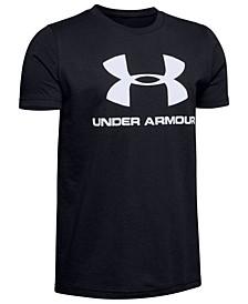 Big Boys Sportstyle Logo-Print T-Shirt