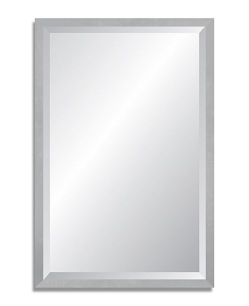 Reveal Frame Decor Reveal Aircraft Silver Beveled Wall Mirror Reviews All Mirrors Home Decor Macy S
