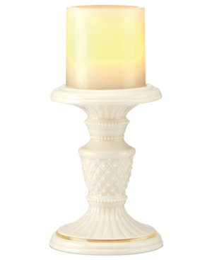 Lenox Candle Holder, Illuminate Beaded Pillar