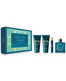 Men's 4-Pc. Eros Eau de Toilette Gift Set