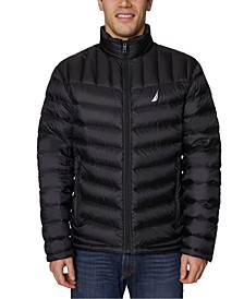 Men's Big & Tall Mini Ripstop Nylon Puffer Jacket