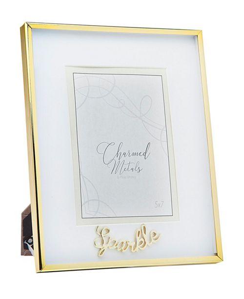 "Philip Whitney Sparkle Gold Frame - 8"" x 10"""