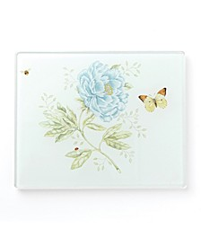 Butterfly Meadow Kitchen Small Glass Food Board, Created for Macy's