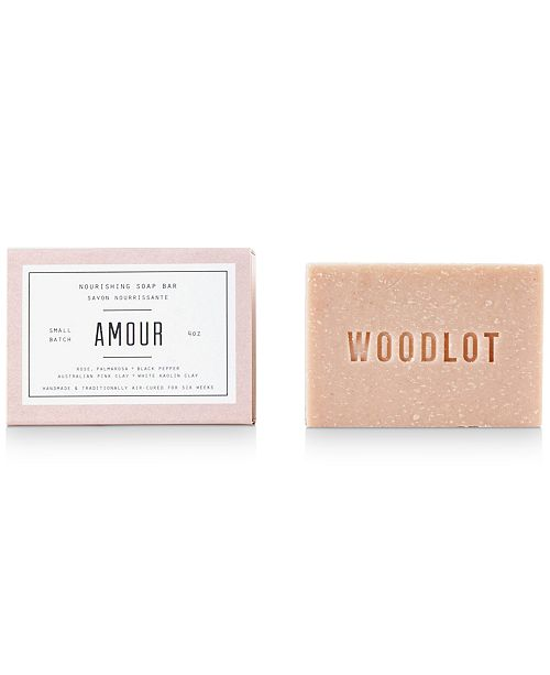 WOODLOT Amour Soap Bar, 4-oz.