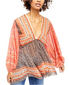 Aliyah Printed Tunic Top