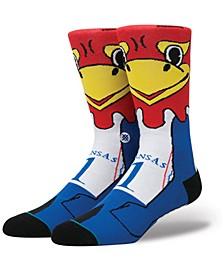 Kansas Jayhawks Mascot Sock