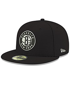 Brooklyn Nets Basic 59FIFTY Fitted Cap