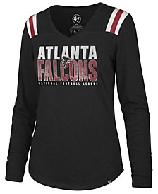 Women's Atlanta Falcons Flash Long Sleeve T-Shirt