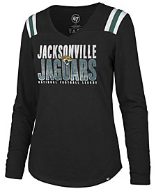 Women's Jacksonville Jaguars Flash Long Sleeve T-Shirt