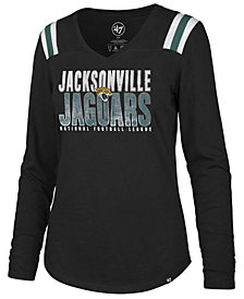 '47 Brand Women's Jacksonville Jaguars Flash Long Sleeve T-Shirt