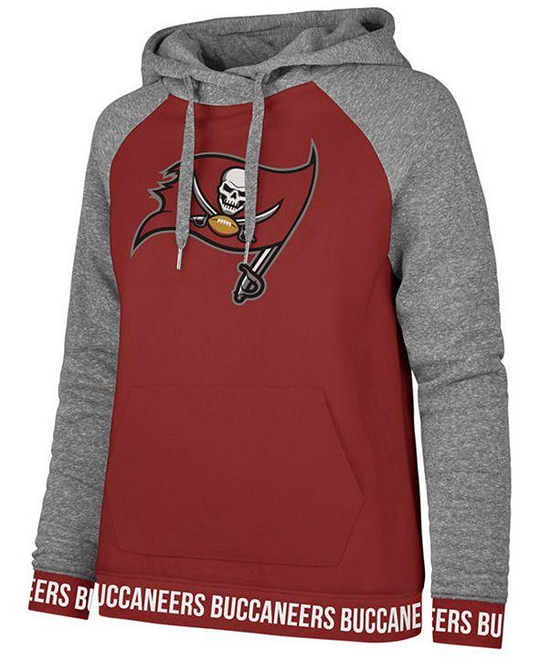 '47 Brand Women's Tampa Bay Buccaneers Revolve Hooded Sweatshirt