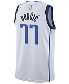 Men's Luka Doncic Dallas Mavericks Association Swingman Jersey